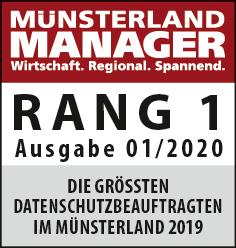 Rang 1 im Münsterland Manager